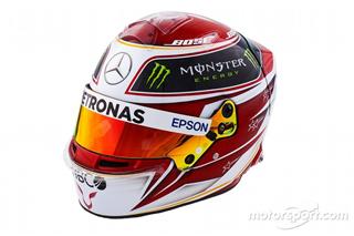 Галерея: шоломи пілотів Mercedes