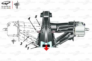 Ексклюзив: Секрет задньої підвіски Mercedes Ф1