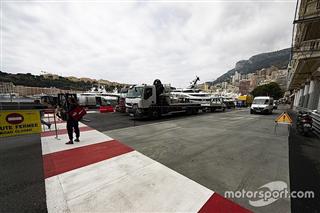 У Монако додали дуже абразивний асфальт у зоні безпеки на виїзді з тунелю