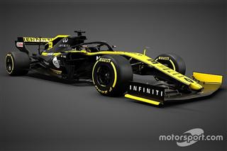 Renault показала нову машину Ф1
