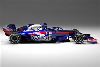 Toro Rosso показала машину для нового сезону Ф1