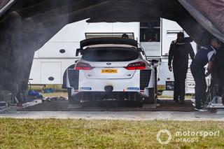 Галерея: Боттас за кермом Ford Fiesta WRC у Німеччині