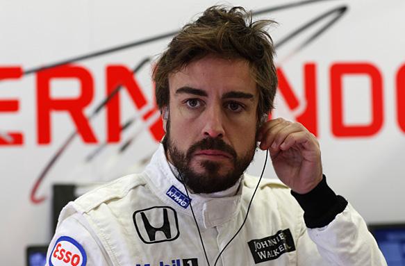 Фернандо Алонсо получил штраф в 30 позиций на старте Гран При Великобритании