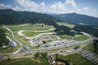 Стартова решітка ГП Австрії 2016