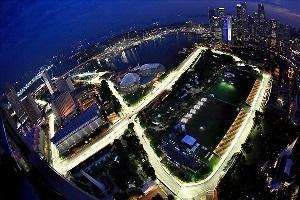 Стартова решітка ГП Cінгапура 2016